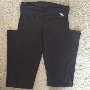 NEW Abercrombie & Fitch Boot Cut Yoga Pants Sz L